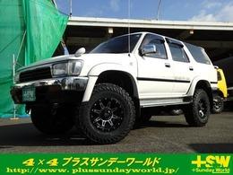 トヨタ ハイラックスサーフ 3.0 SSR-X ワイドボデー ディーゼルターボ 4WD 新品アルミ マッドタイヤ リフトUP