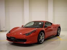 フェラーリ 458イタリア F1 DCT 認定中古車保証