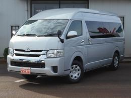 トヨタ ハイエース 2.7 グランドキャビン 4WD セーフティセンス 社外メモリーナビ ETC