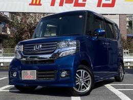 ホンダ N-BOX+ 660 カスタムG ターボAパッケージ 車検3年10月 両側Pスライド 純正ナビTV