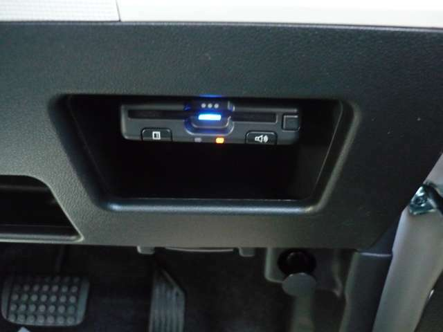 Panasonic ETCボイスタイプも小物入れ内に収納お取り付け☆