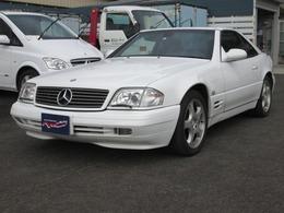 メルセデス・ベンツ SLクラス SL500 黒革シート・ウッドコンビステアリング