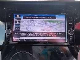 メモリーナビ(MM318D-W)、TV(フルセグ)。