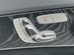 【シートヒーター・メモリー】装備で細かなポジション設定が可能です!