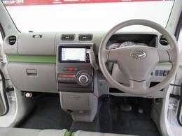 幅をたっぷりと確保したフロントシートはベンチシートでゆったりリラックス!スッキリとしたインテリアがおしゃれです!