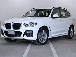 BMW X3 xドライブ20d Mスポーツ ディーゼルターボ 4WD BMW認定中古車 ハイラインP 茶革 19AW