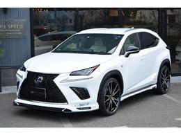 レクサス NX 300 Fスポーツ ZEUS新車カスタム 三眼 ルーフレール