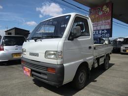 スズキ キャリイ 660 KU 3方開 4速マニュアル 4WD