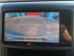 バックカメラ搭載ですので駐車も簡単です。