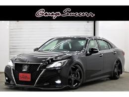 トヨタ クラウンアスリート 2.0 S-T フロントリップ新WORK19新車高調Bluetooth