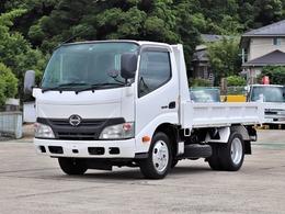 日野自動車 デュトロ 2t ダンプ 全低床 4WD TKG-XZU675T