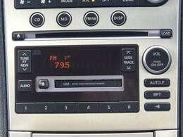 CDオーディオが付いていますのでドライブも快適に楽しめますね♪