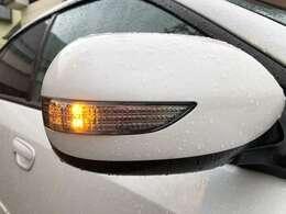 ミラーウィンカーが装着されておりますので対向車や歩行者からの視認性も上がりますので安全な装備になります♪