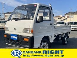 スバル サンバートラック 660 STD 三方開 4WD 5速マニュアル パートタイム4WD