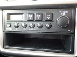 オーディオはAM/FMラジオが使用可能です♪快適なドライブの強い味方です☆