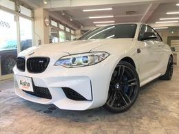 BMW M2クーペ M DCT ドライブロジック 黒レザー・インテリS・ドラレコ