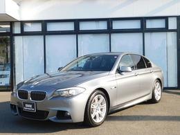 BMW 5シリーズ 535i Mスポーツパッケージ 黒革電動シート 社外ドラレコ フルセグ