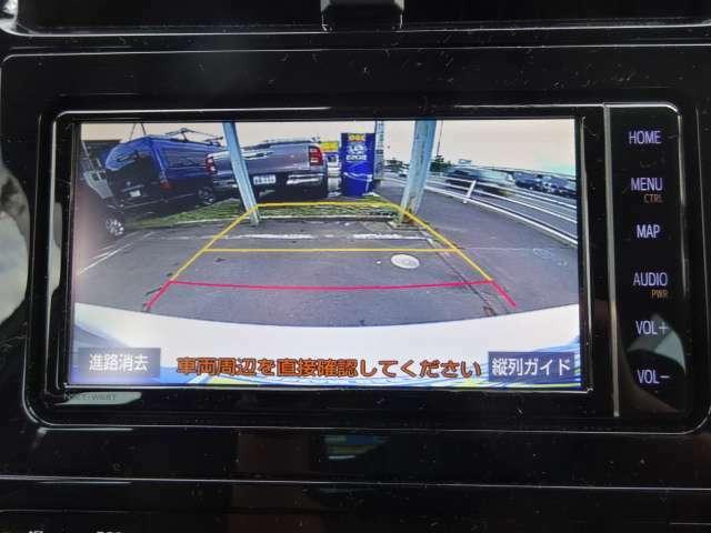 駐車も安心、バックカメラ!
