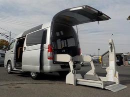 トヨタ ハイエースバン 2.0 ウェルキャブ Bタイプ ロング 自動ドア ナビBカメラ