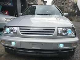 インプロ製プロジェクターヘッドライトにロービーム、フォグランプ共にHID、灯火類もLEDに交換済みです。