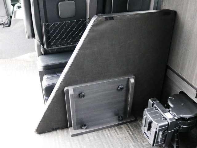 取り外したベッドマットは車内収納が可能です!
