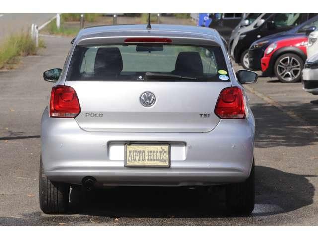 VWのコンパクトカーで丁度良いサイズです。