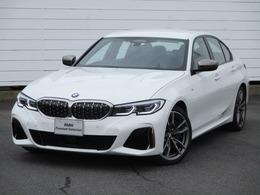 BMW 3シリーズ M340i xドライブ 4WD 当社デモカー禁煙車 ACC HUD 黒レザー 19AW