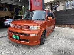 トヨタ bB 1.3 S Wバージョン HIDセレクションII 新品レザー調シートカバー 社外ナビ