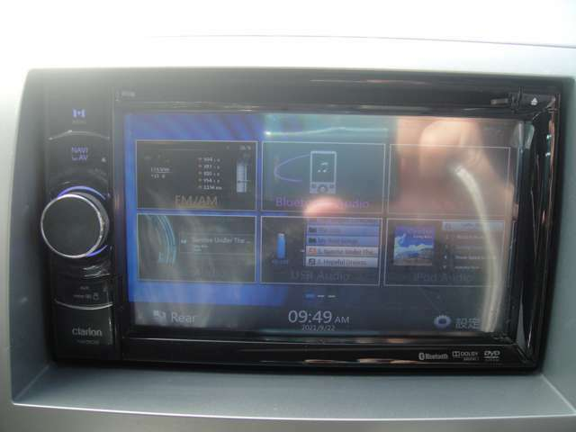 オーディオはAM・FM・CD・Bluetooth接続・AUX接続対応です!!