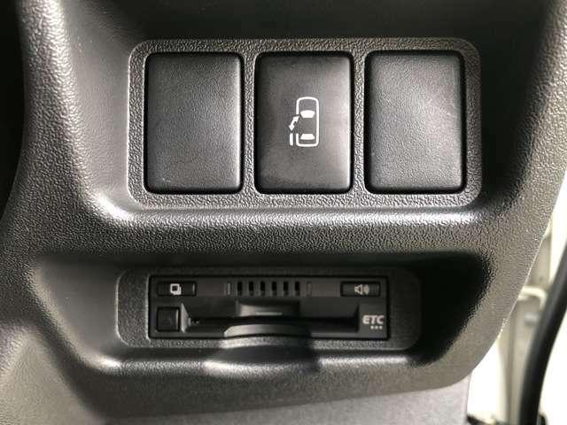 ETCにパワースライドスイッチ☆運転席からボタン一つで開閉可能です♪