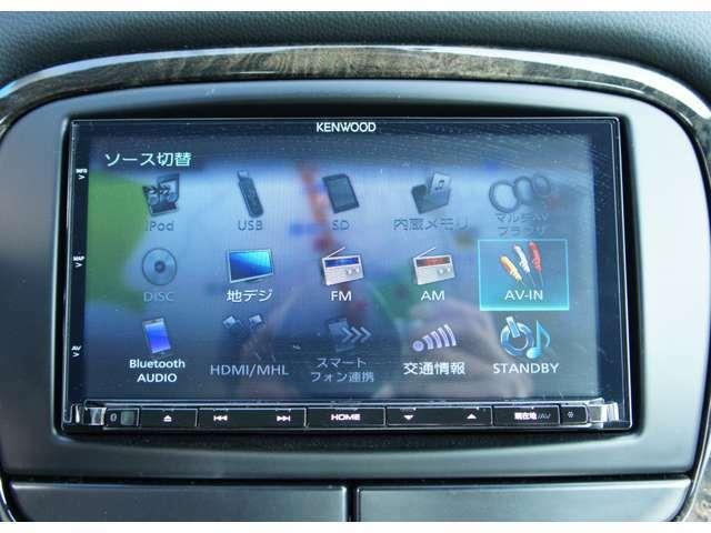 Bluetoothオーディオなど機能多彩です。