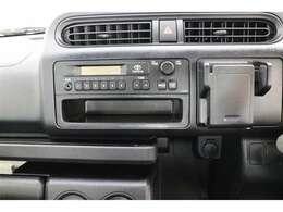 ラジオが視聴可能です!当たり前の装備かもしれませんが、なくては困るドライブの必需品ですね!