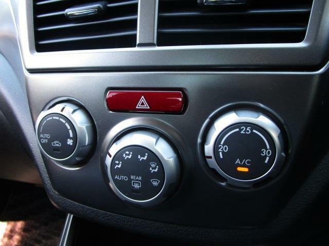 ■ 装備6 ■ フルオートエアコン:設定温度に応じて風量と吹出口が自動で切り替わります!