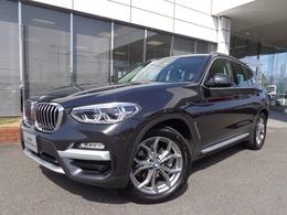 BMW X3 xドライブ20i xライン 4WD 19AWハイライン黒革デモカー認定中古車