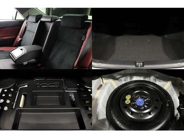 ●トランクは広々設計になっておりますのでお荷物の多い日も安心です!!!