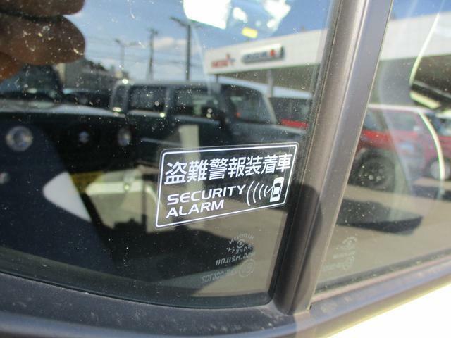 盗難警報装置。電波を使わずに乗り込むとクラクションを鳴らして周囲に知らせてくれます。うっかり鳴らしてしまったら車のオーナーであればエンジンをかけて解除できます。