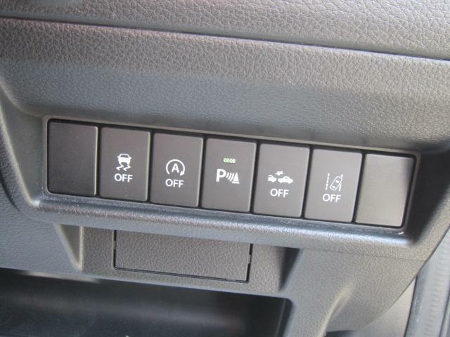 各機能の切り替えボタンは運転席から操作ラクラク。