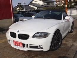 BMW Z4 ロードスター2.5i 20アルミ 外マフラー エアロ HDD