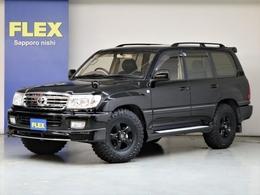 トヨタ ランドクルーザー100 4.2 VXリミテッド ディーゼルターボ 4WD 後期LOOK 新品MTタイヤ SDナビ