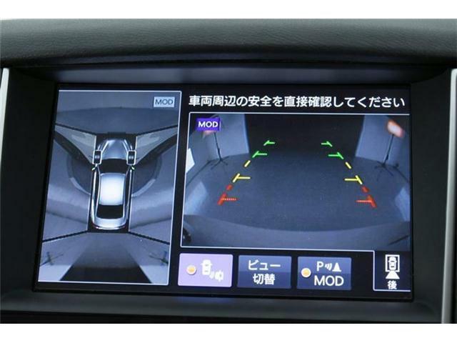 人気の【アラウンドビューモニター】も搭載!!フロント・サイド・バックと車両の周辺丸見え◎