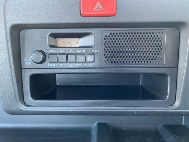 AM/FMラジオ付きです!