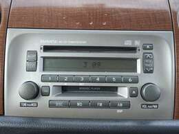 【オーディオ】CDオーディオが付いていますのでドライブも快適に楽しめますね♪