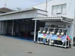 整備工場も併設してますのでご購入後の車検・点検もお任せ下さい!