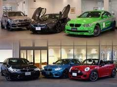 BMW/MINI/BMW ALPINA 3ブランド取扱店☆