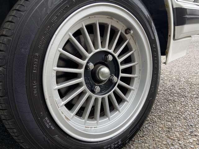車高調、LINEA SPORT15インチアルミ!!タイヤ交換も出来ますので、お気軽にご相談下さい!!