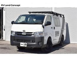 トヨタ ハイエースバン SEDONA TYPE III 未登録車 車中泊 サブバッテリー 4WD バンライフ 車中泊 展示デモカー