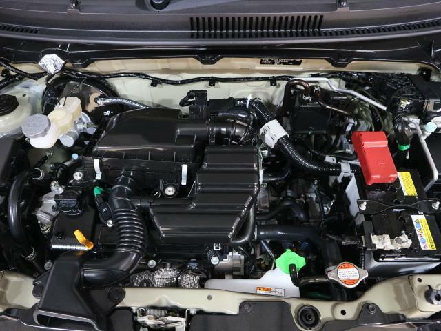 力強い走りと低燃費を両立したSUZUKIエンジン。エネルギーをムダなく引き出すことで、日常使いから高速道路まで幅広い速度域で高い燃費性能とスムーズな走りを実現しました。