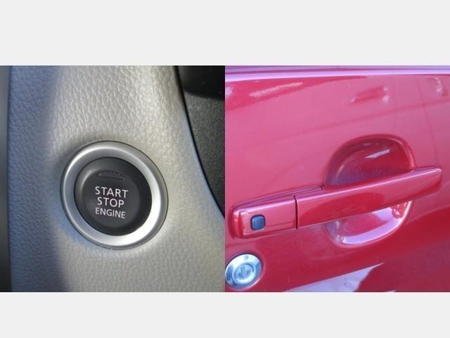 プッシュ式スターターは鍵を刺さなくてもエンジン始動が可能です(^-^)