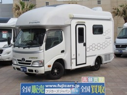 トヨタ カムロード ファンルーチェ ヨセミテ エナジー NoxPM適合 2サブ 発電機 ルームエアコン