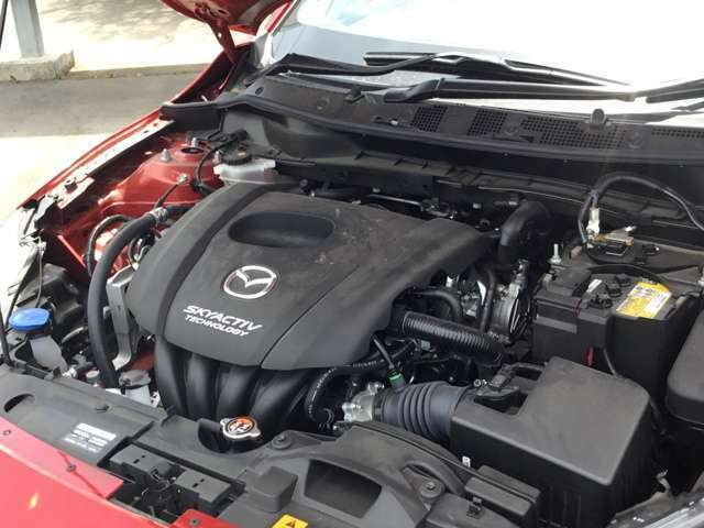 1500CCスカイアクティブエンジン 低燃費で静かです